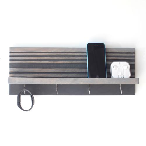 key jewelry organizer modern wood butcher designs
