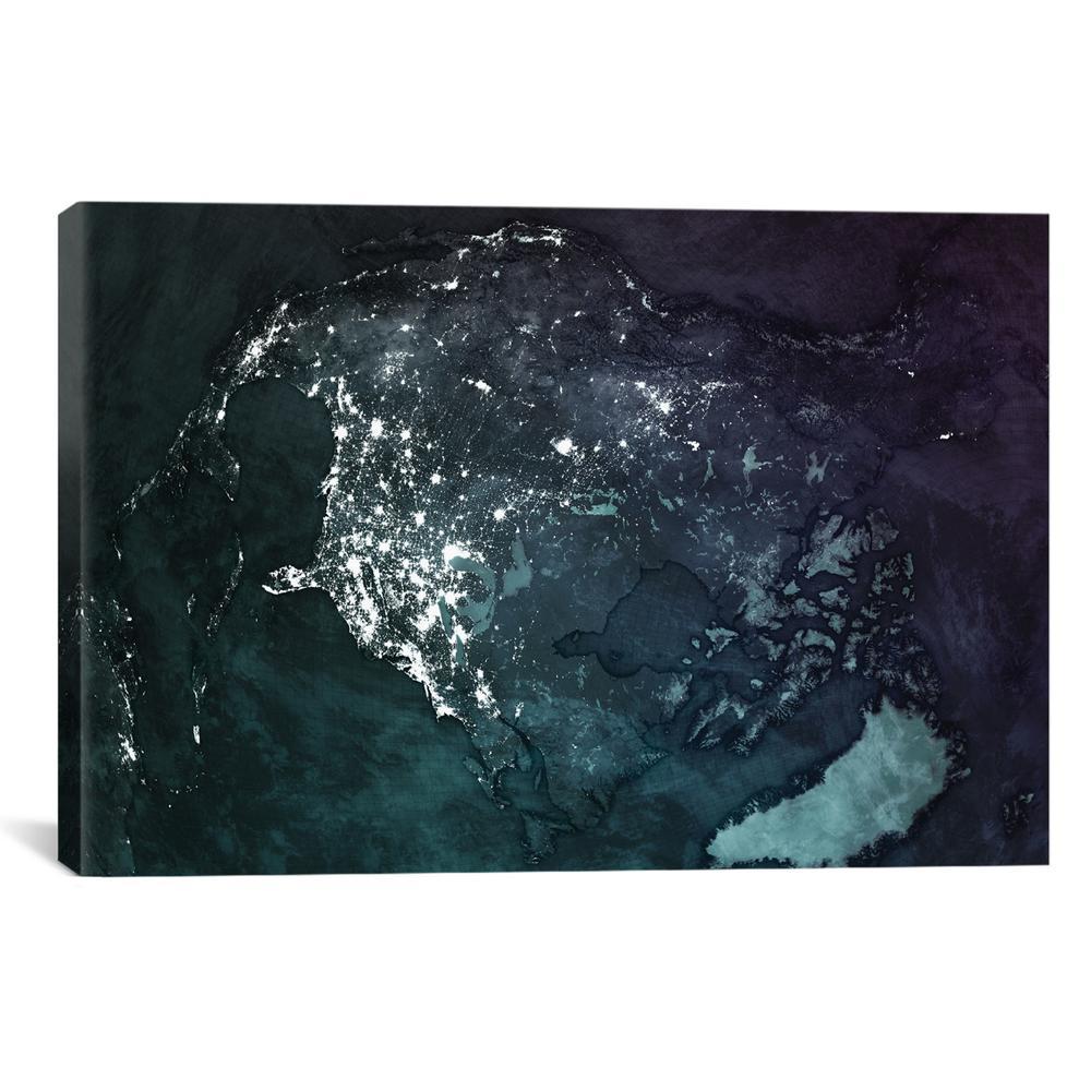 The Upside Down Earth Series: North America   Marco Bagni