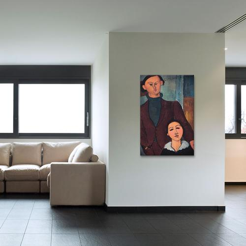 Portrait of Jaques and Bethe Lipchitz