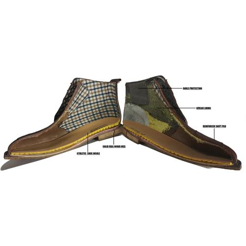 Motorcycle Boot | LaRyder | Handmade Kevlar | Motobailey