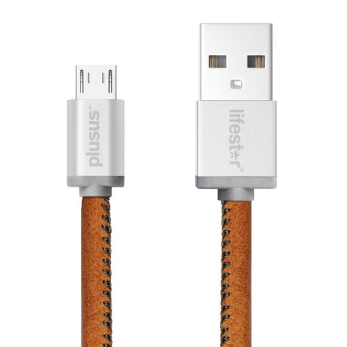 Hancrafted Vintage Tan   MicroUSB