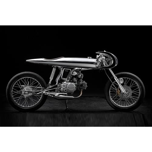 Honda Motorcycle | Eve | Chrome