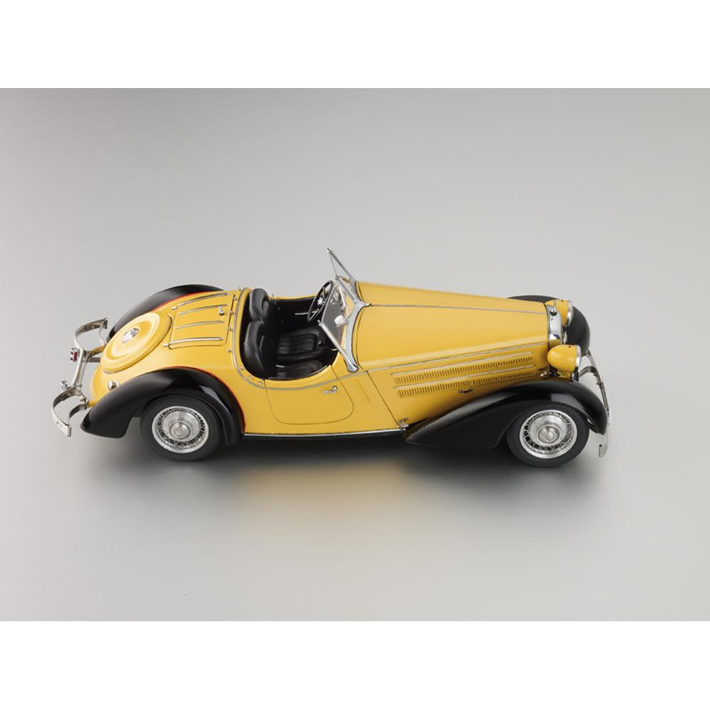 Audi 225 Front Roadster |1935 | Yellow/Black | CMC