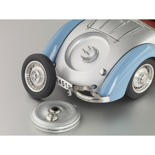 Audi 225 Front Roadster | 1935 | Blue/Silver | CMC
