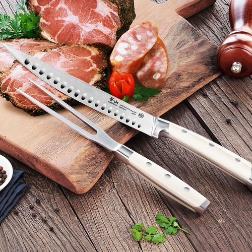 S1 Series   2-piece Carving Set Combo   Steel   Cangshan