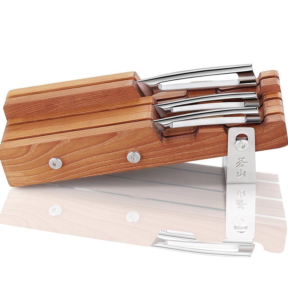 N1 Series 4 Piece Combo & Wood Block | Cangshan