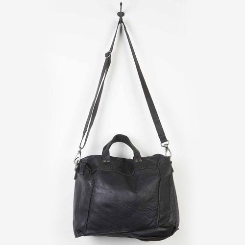 Leather Slouchy Messenger Satchel | Alex | Cut N Paste