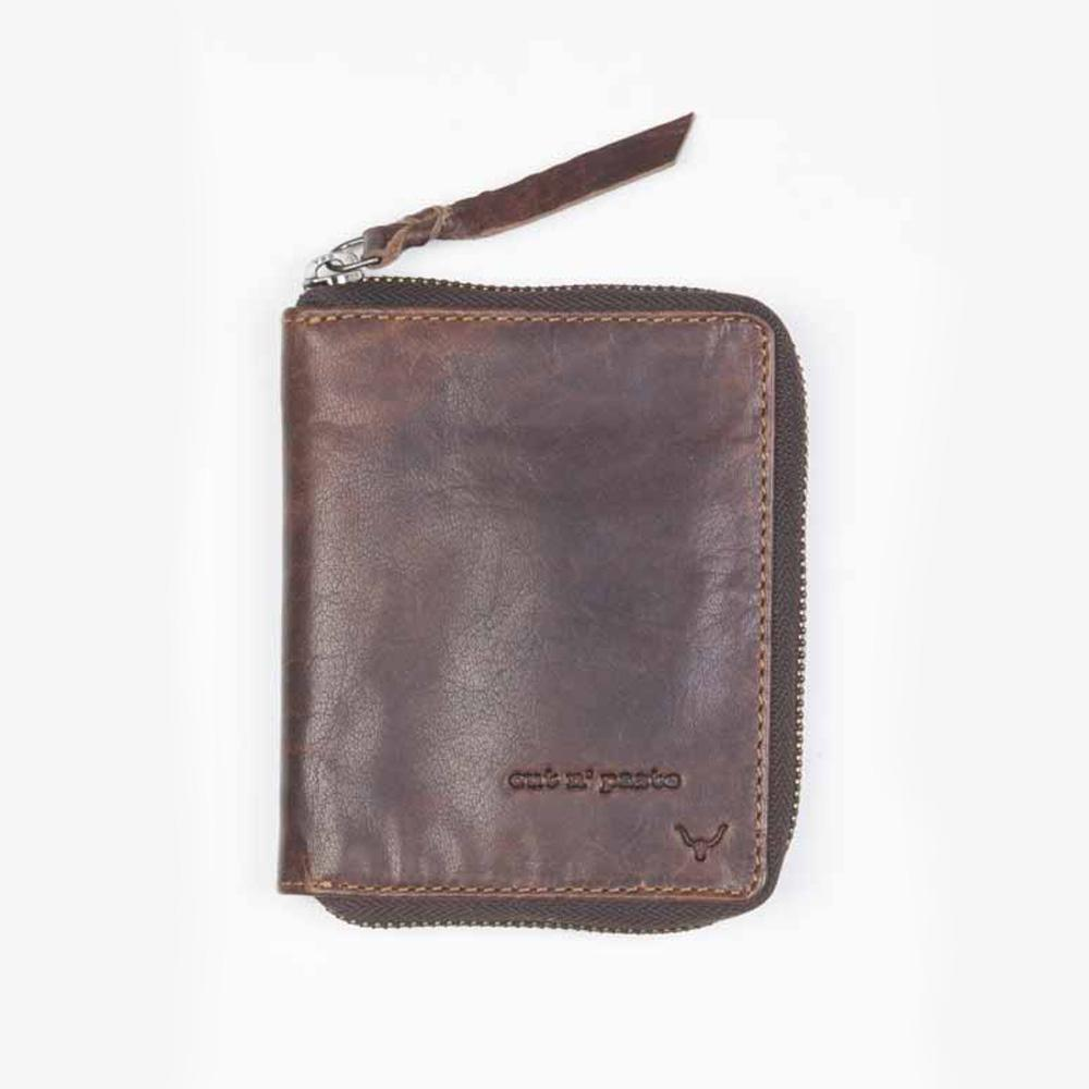 Leather Zip Around Wallet | Havoc | Cut N Paste