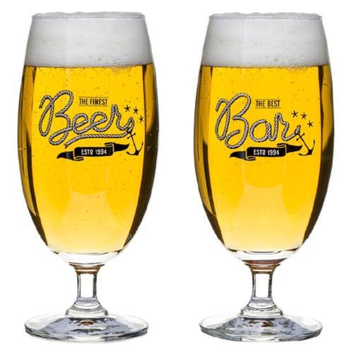 Beer Glasses | Set of 4 | Sagaform