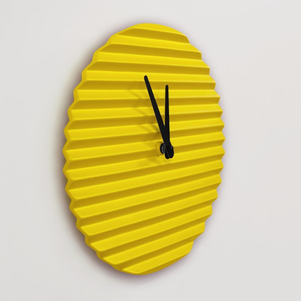 WaveCLOCK | Yellow | Sabrina Fossi