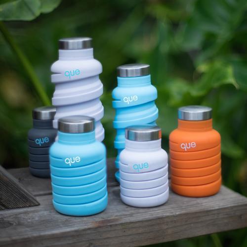 que Bottle 20 fl oz | Blue | GetQue