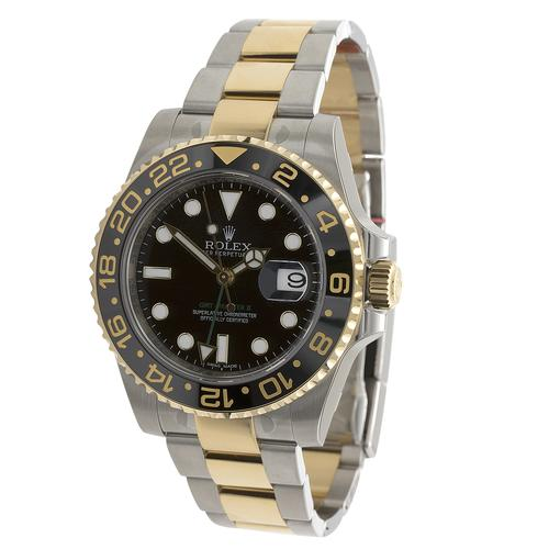 Rolex Oyster Perpetual GMT Master II Men's Automatic Watch