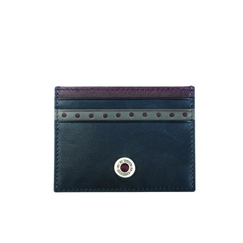 Leather Bearing Credit Card Holder