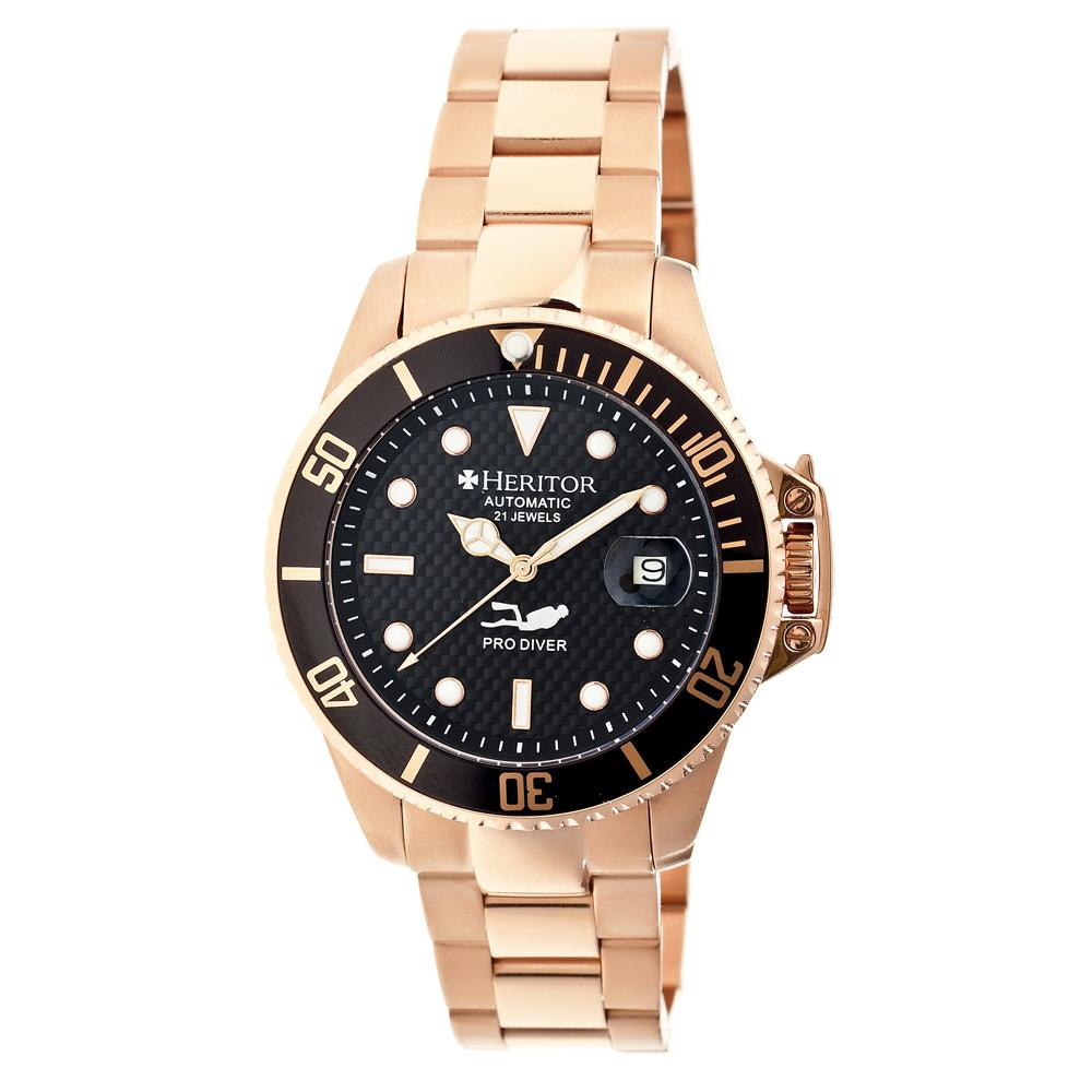 pytheas automatic mens hr2105 heritor watches