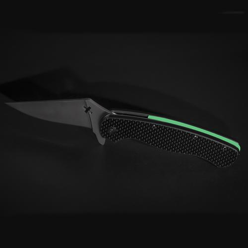 Glowing Knife | Black/Green