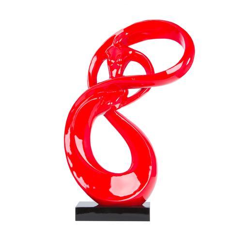 Lady Roll Resin Sculpture | Modern and Art Deco Sculptures