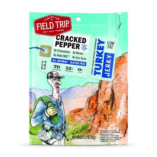 Turkey Jerky | Cracked Pepper | Set of 9