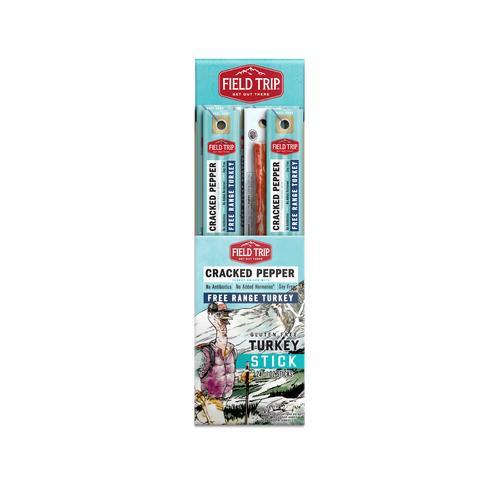 Turkey Sticks | Cracked Pepper Flavor | Field Trip Jerky
