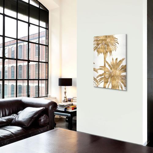 Golden Palms Panel IV