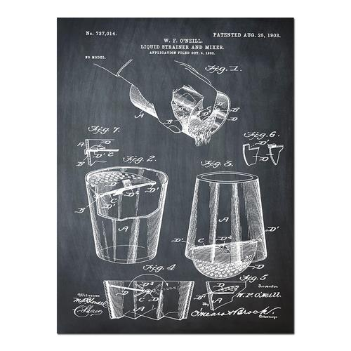 Cocktail Mixer-1903 Chalk   Paper