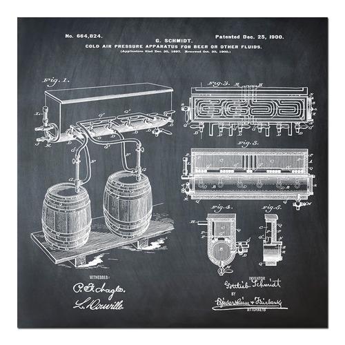Schmidts Tap-1900 Chalk   Paper