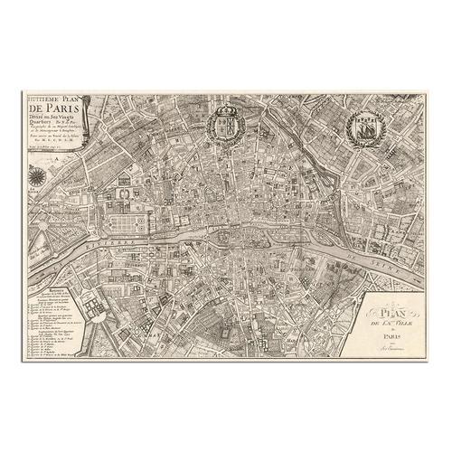 Plan de la Ville de Paris, 1 | Paper