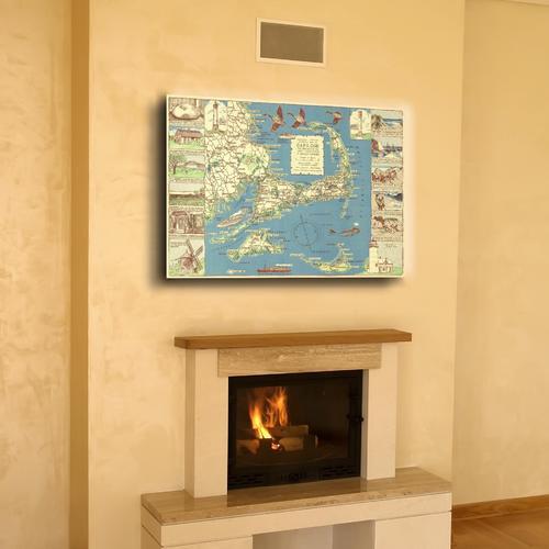 Decorative Cape Cod | Canvas