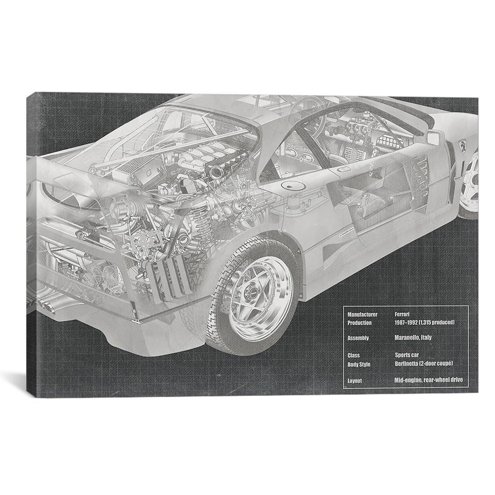 Engine and interior x ray blueprint malvernweather Choice Image