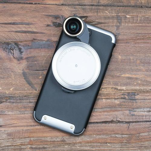 Revolver Lens Camera Kit for iPhone 7   Silver
