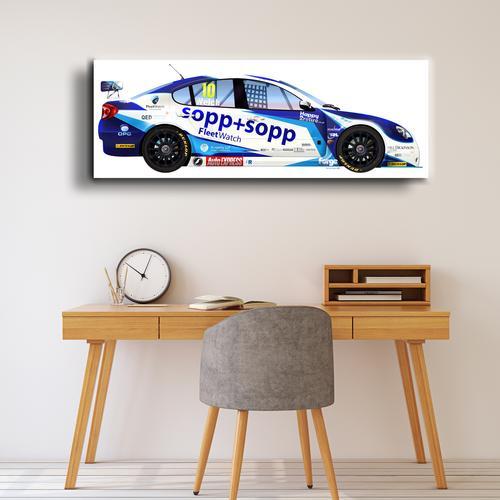 2013 Proton Car I   Canvas