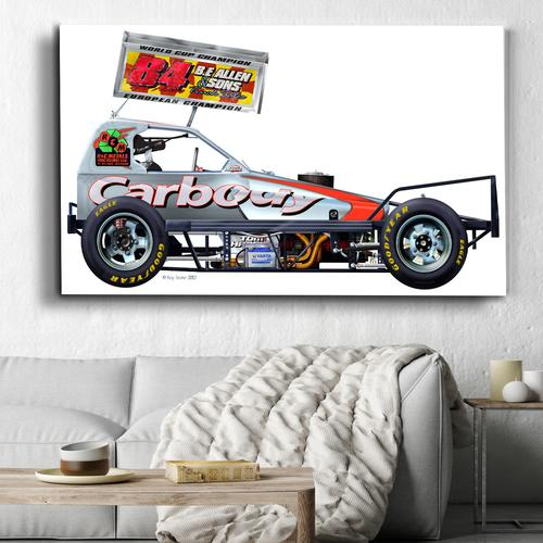 Tom Harris 84 Silver | Canvas