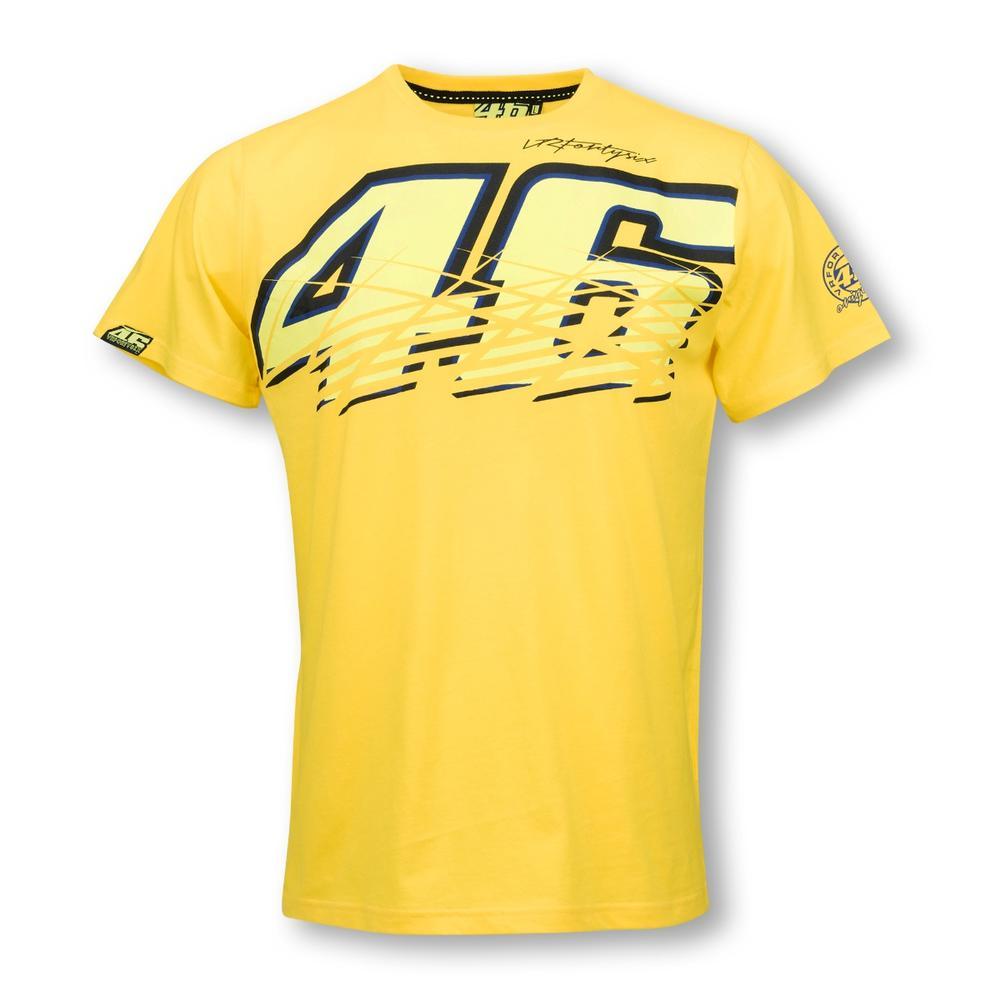 valentino rossi yellow t shirt moto gp apparel. Black Bedroom Furniture Sets. Home Design Ideas