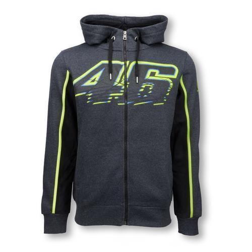 Valentino Rossi Zip up Grey Hoodie