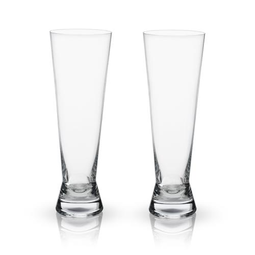 Crystal Pilsner Glasses
