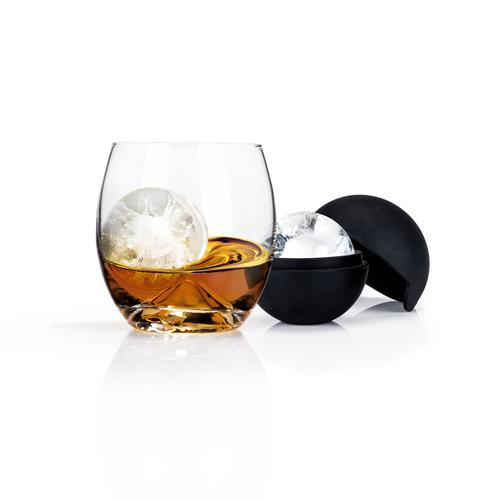 Glacier Rocks Ice Ball Mold and Tumbler Set