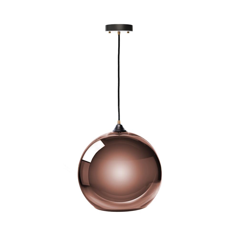 single sphere pendant l copper