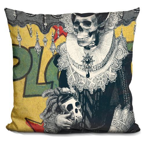 'Lady cushion' Throw Pillow