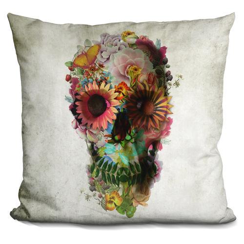 'Skull 2' Throw Pillow