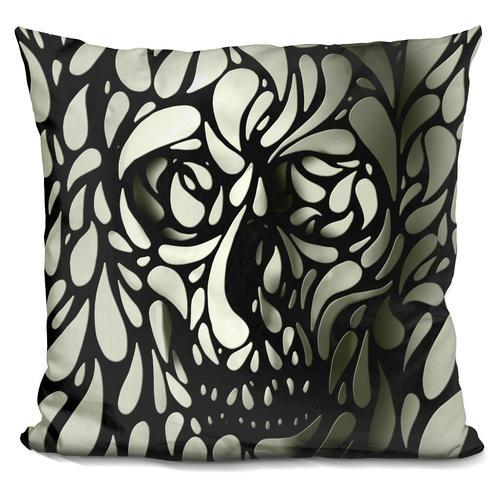'Skull 4' Throw Pillow