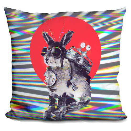 'Time traveller' Throw Pillow