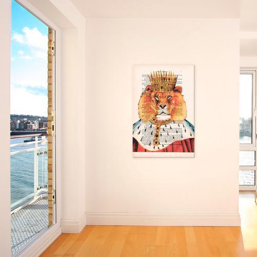 Vintage Paper Series: Lion King