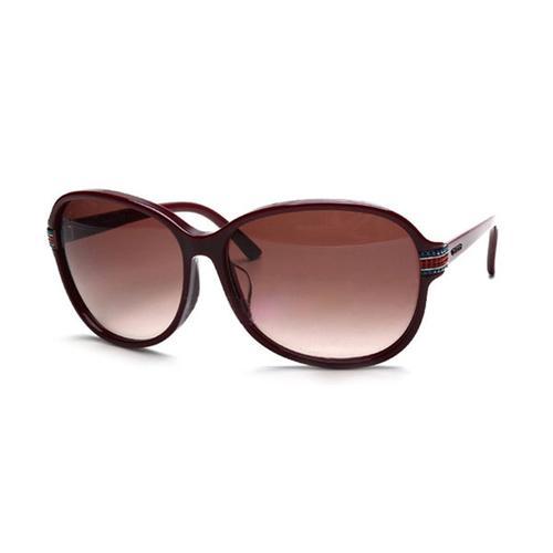 Burgundy frame Sunglasses with Burgundy Gradient lenses
