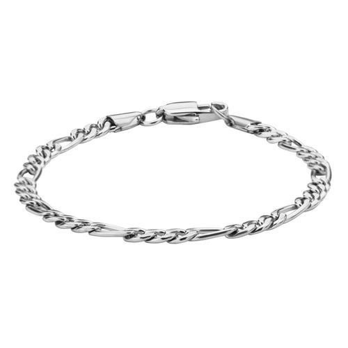 Men's Stainless Steel figaro Chain bracelet