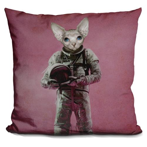Durro Art 'The dreamer' Throw Pillow