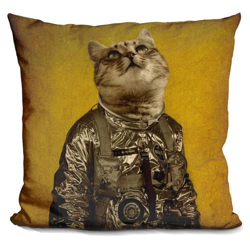Durro Art 'Up there is my home' Throw Pillow
