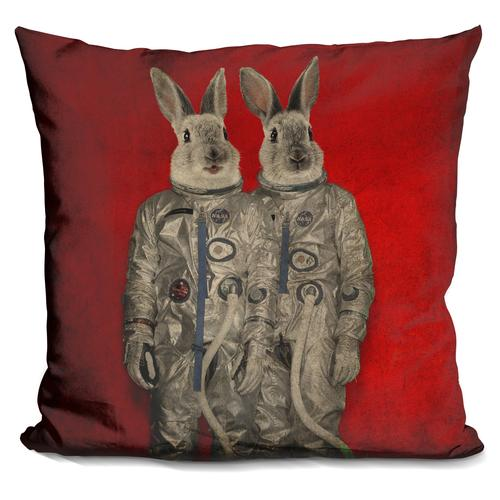 Durro Art 'We are ready' Throw Pillow