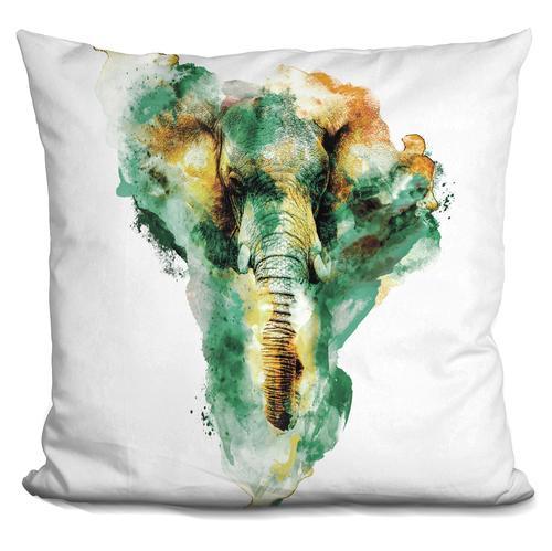Riza Peker 'Wild Africa' Throw Pillow
