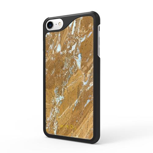 iPhone 7 case   Galaxy Gold with Black Border