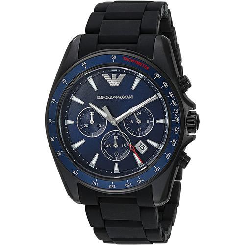 Emporio Armani Sports Watch | Blue Dial Chronograph