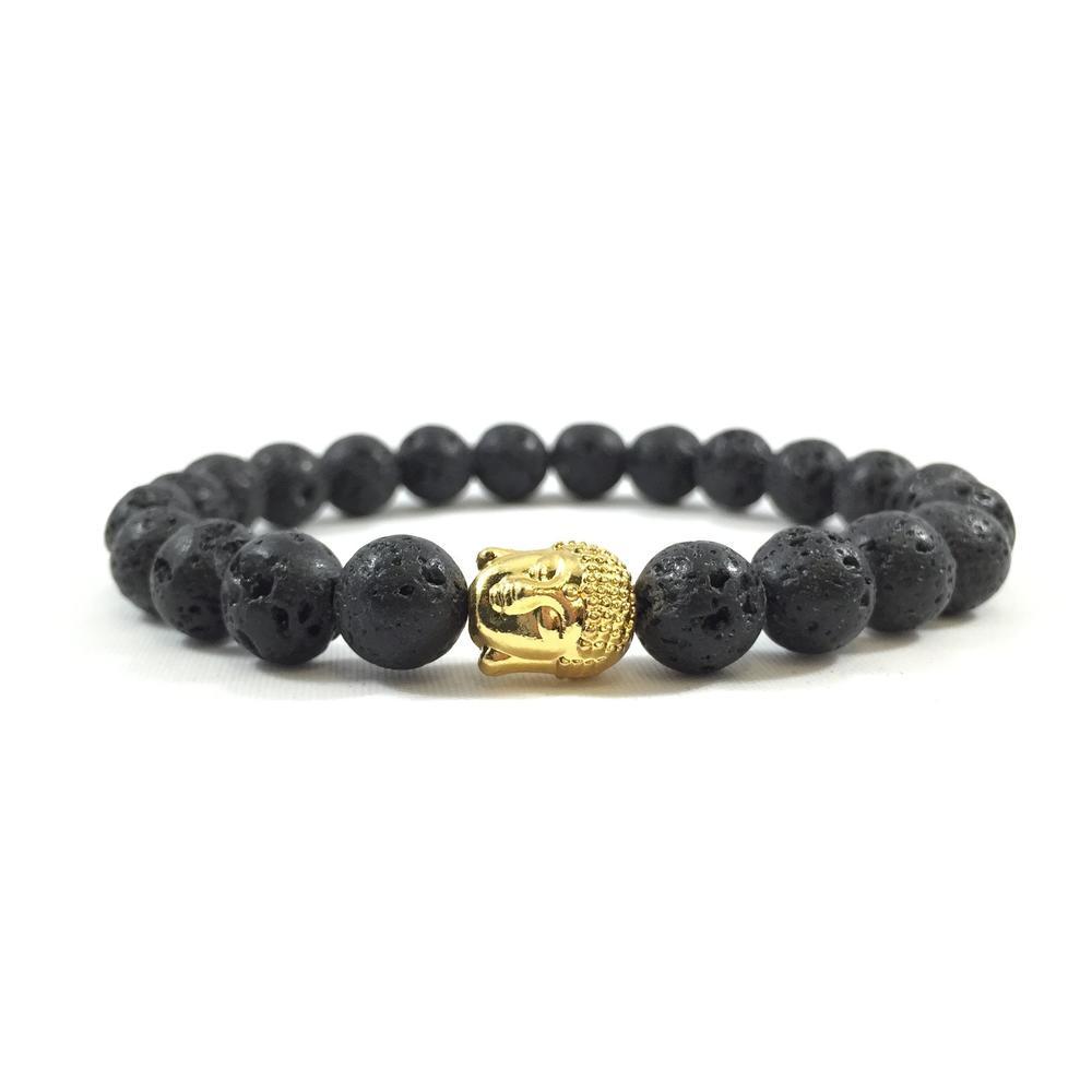 Lava Stone   24kt Gold Buddha   Executive Society